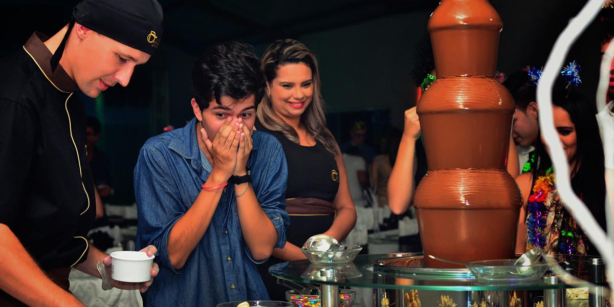 Cascata de Chocolate Curitiba Duo Cacao