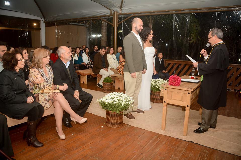 Celebrante Robson Borges Casamento Eric e Rafaely Duo Cacao Cascata de Chocolate Curitiba