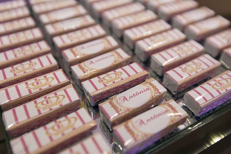 bis personalizado aniversario de um ano duo cacao cascata de chocolate curitiba
